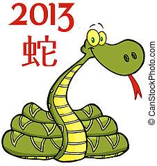 texte, 2, serpent