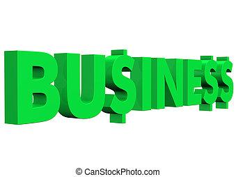 texte, business