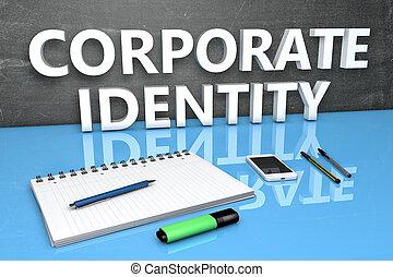 texte, concept, identité corporation