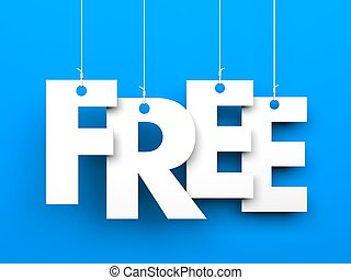texte, free., ficelle