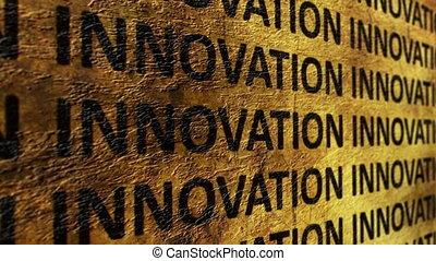 texte, innovation, grunge, fond
