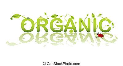 texte, organique