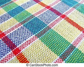 textile, multicolore