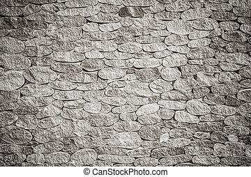 texture, fond, pierre, vignette, noir, mur blanc, photo, gris