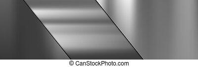 texture, métal, acier, coupure, gradient