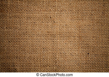 texture, qualité, toile sac, élevé, ou, sacking, burlap