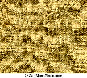 texture, tissu, fond, brun