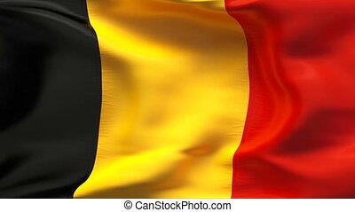 textured, drapeau belgique, coton