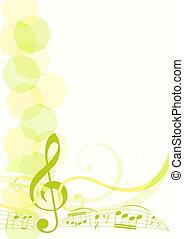 thème, musique, fond