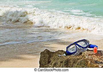 thème, plage, été, résumé