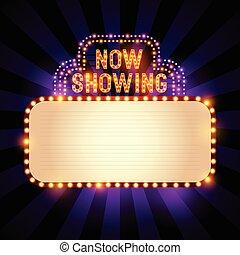 théâtre, signe, vendange