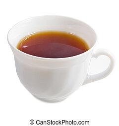 thé, casquette, isolé