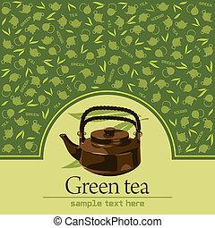 thé, vert