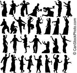thaï, danseurs