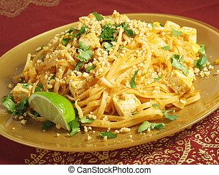 thaïlandais coussin, tofu