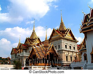 thaïlande, art, architecture