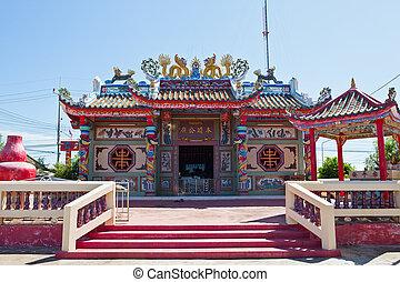 thaïlande, temple, chinois