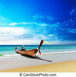thaïlande, voyage, plage, mer, paysage