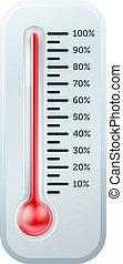 thermomètre, illustration