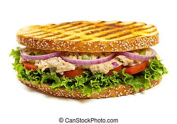 thon, panini, sandwich