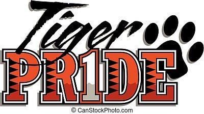 tigre, fierté