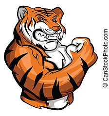tigre, mascotte