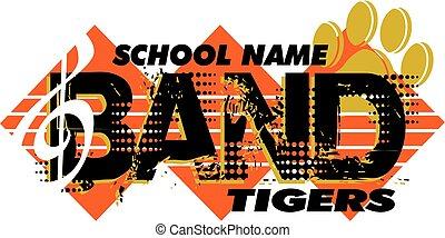 tigres, bande