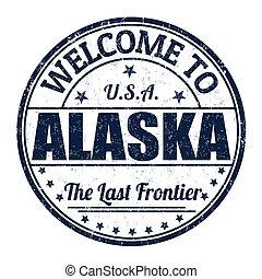 timbre, accueil, alaska