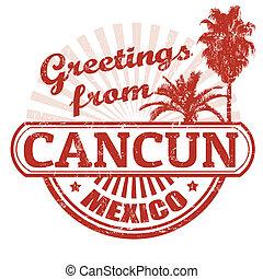 timbre, cancun, salutations