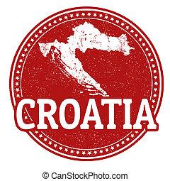 timbre, croatie