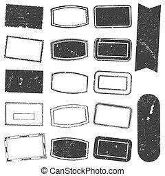 timbre, ensemble, grunge, rectangle