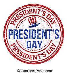 timbre, jour présidents