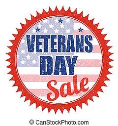 timbre, jour vétérans, vente