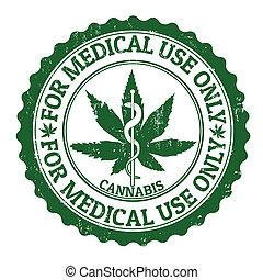 timbre, monde médical, marijuana