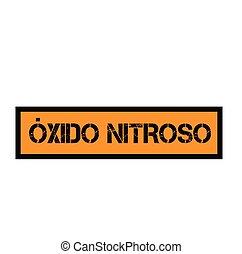 timbre, oxyde, nitreux, espagnol