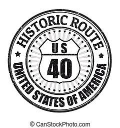 timbre, parcours, historique, 40