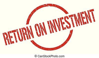 timbre, retour, investissement
