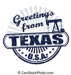 timbre, salutations, texas