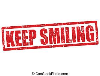 timbre, sourire, garder