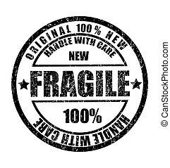 timbre, texte, caoutchouc, fragile, grunge