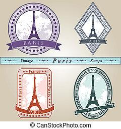 timbre, vendange, paris
