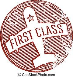 timbre, voyage, classe, premier