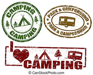 timbres, camping
