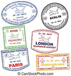 timbres, ensemble, passeport