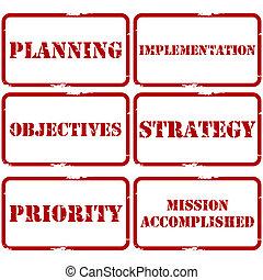 timbres, plan, stratégique