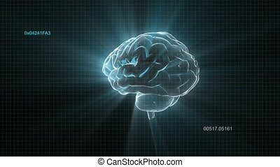 timec, cerveau, flamme, aléatoire, lumière
