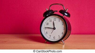 timelapse, analogue, horloge