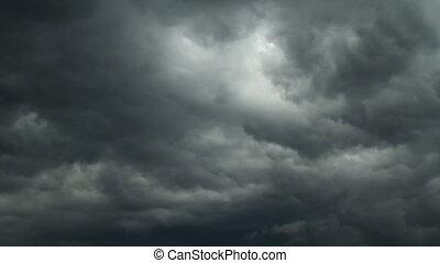 timelapse couvre, pluie