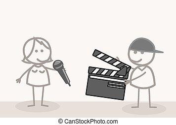 tir, vidéo, prendre