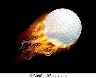 tirez boule, golf